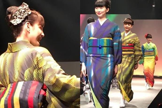 「TOKYO KIMONO COLLECTION」に鎌田ら資生堂へアメイクアップアーティストたちがサポート!