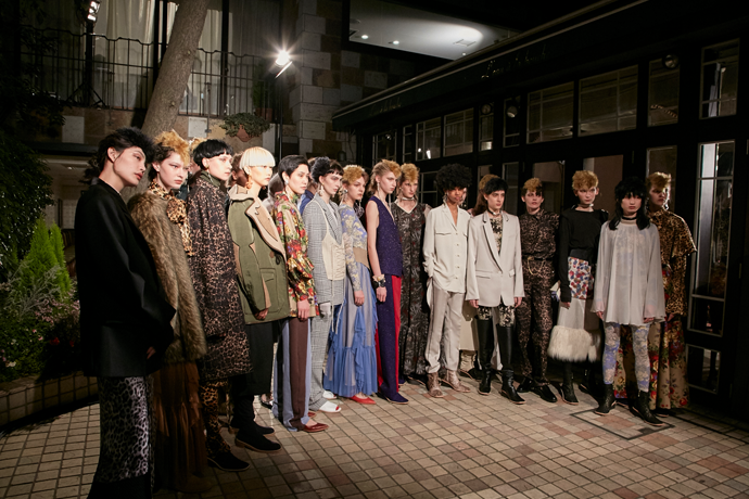 Amazon Fashion Week TOKYO Vol.1「THE Dallas」「ERI」「DAJYO HIYOJI」「JOTARO SAITO」