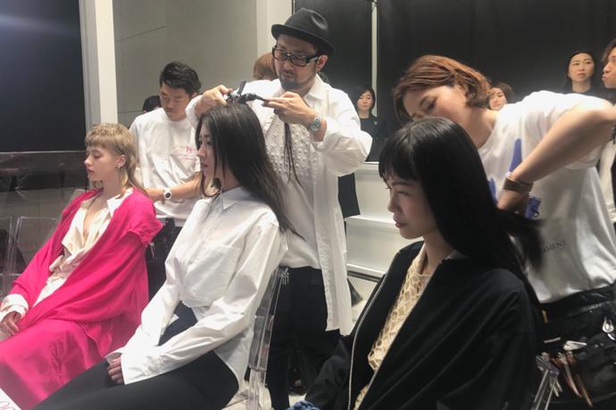計良宏文がY's OMOTESANDO 1st anniversaryイベントにてヘアメイクライブに出演!