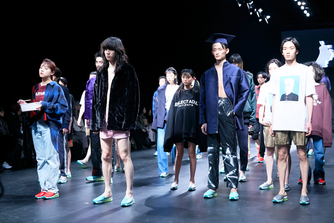 Amazon Fashion Week TOKYO Vol.4「NEGLECT ADULT PATiENTS」「MUZE」「PRDX PARADOX TOKYO」