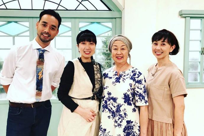 神宮司芳子がNHK「すてきにハンドメイド」に出演!ハマナカとのコラボ!「手芸ビューティー」生まれる!!